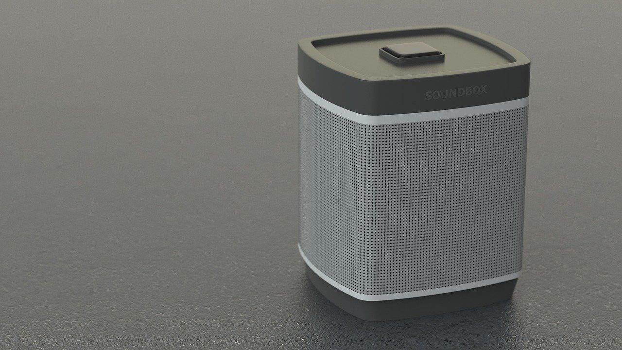 Portable Cube Speaker